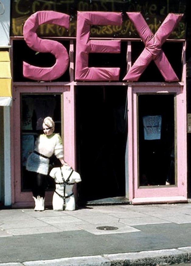 A boutique SEX, de Viviane Westwood e Malcom McLaren