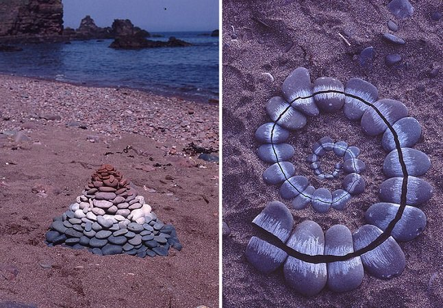 Artista usa elementos da natureza para criar inesperadas intervenções orgânicas