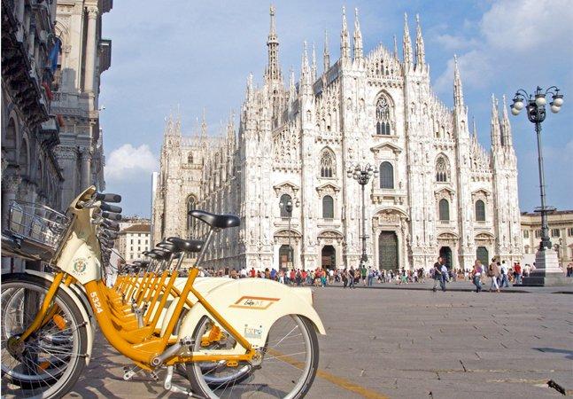 Milão vai pagar moradores para  trocar carro por bike  no trajeto até o trabalho