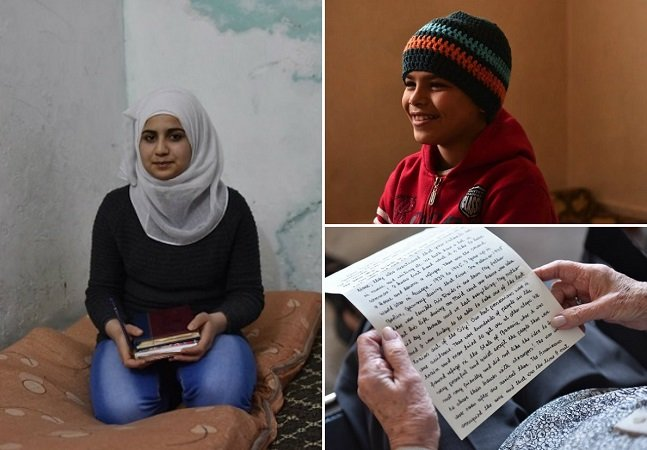 Refugiados da II Guerra enviam cartas tocantes e de esperança para crianças refugiadas de hoje
