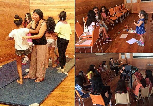 Curso de 'desaprincesamento' está  empoderando meninas no Chile