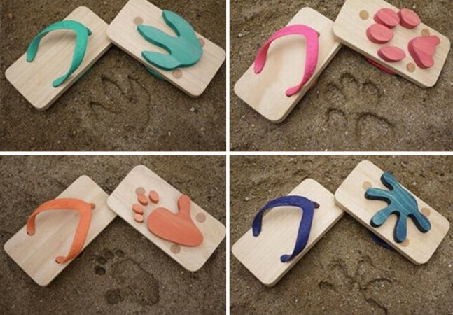 Chinelos que deixam pegadas  de animais são a coisa mais  divertida que você já viu