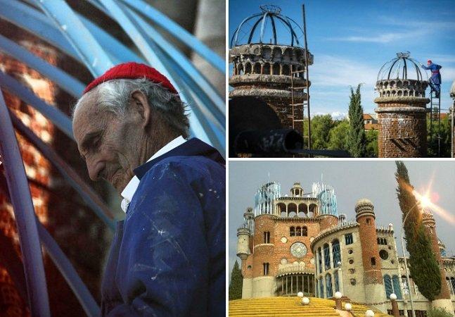 A maravilhosa Catedral construída por um só homem com material reaproveitado ao longo de 50 anos