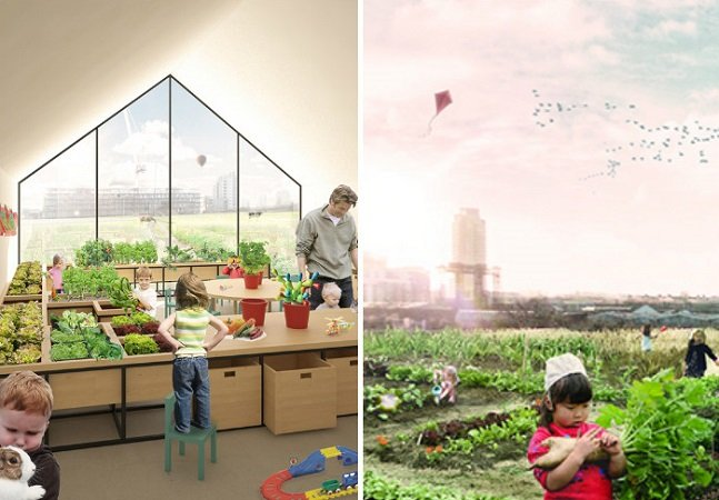 Modelo de escola-fazenda propõe  integrar natureza, cultivo e aprendizado