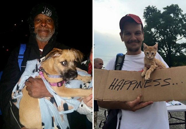 ONG americana ajuda moradores de  rua a tomar conta de seus animais