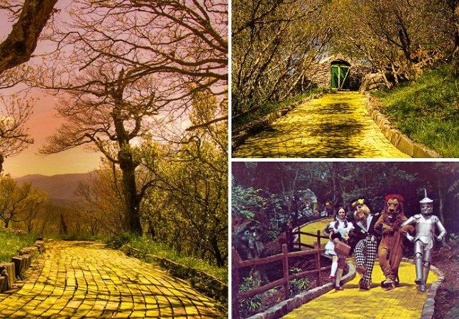 Abandonado desde os anos  1980, parque temático de  'O Mágico de Oz' ainda encanta