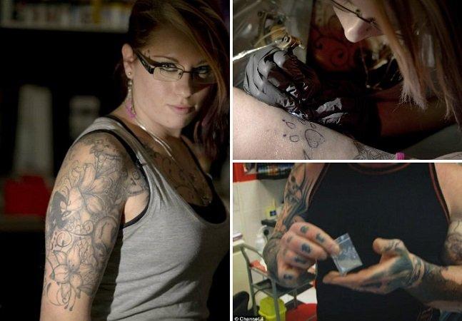 Tatuagens com cinzas de pessoas  falecidas são novidade para  eternizar quem amamos na pele