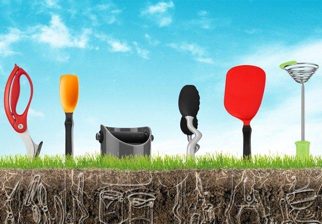 Startup cria utensílios com os quais  você sempre sonhou, mas  que nunca haviam sido inventados