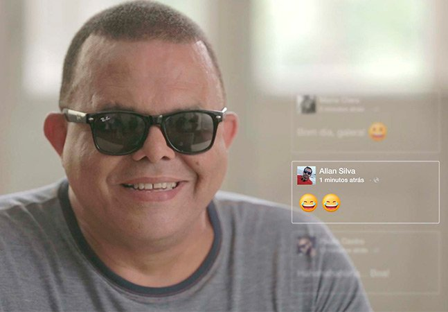 Plugin permite que pessoas com  deficiência visual 'escutem' emoticons  pela primeira vez; veja a reação