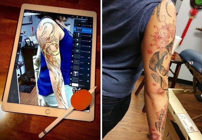 Tatuador encontra forma incrível de garantir que seus clientes não se arrependam de suas tattoos