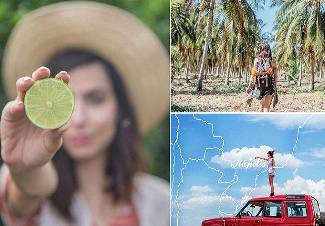 Paulistana cai na estrada para  se reconectar com a natureza  e conhecer fazendas sustentáveis