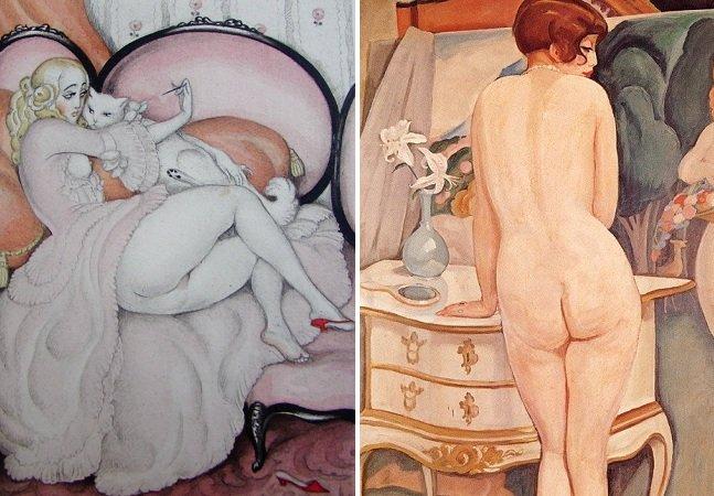 Conheça a arte erótica  lésbica de Gerda Wegener