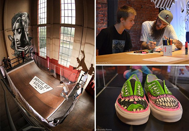 Vans celebra 50 anos com muito skate e rock em SP