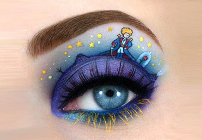 Artista cria maquiagens incríveis  inspiradas em livros e filmes