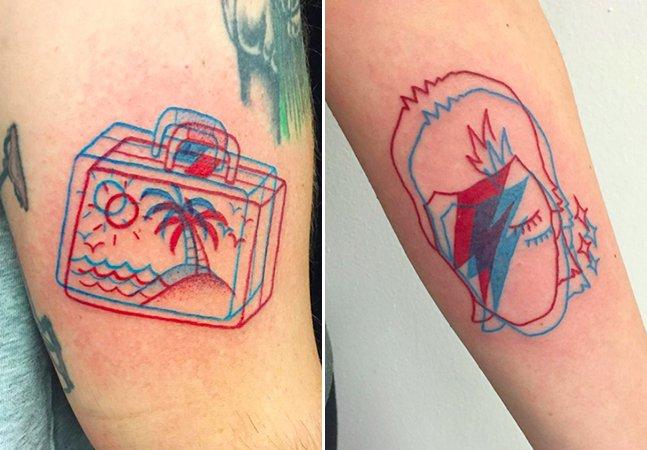 Quando você acha que nada mais pode  surpreender surgem as tatuagens 3D; veja como funciona