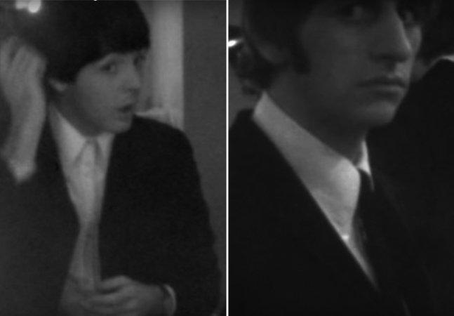 Confira vídeo inédito dos Beatles  que acaba de ser divulgado