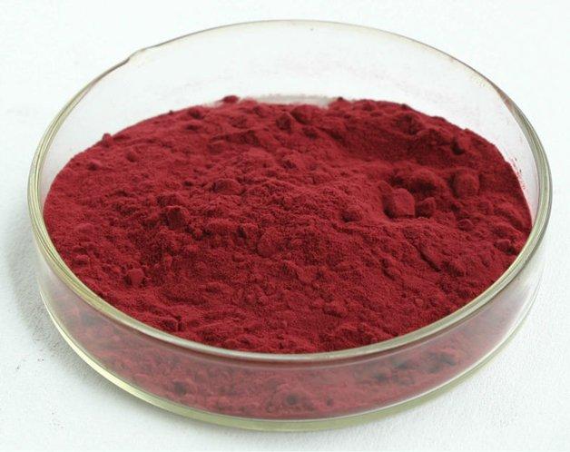 O corante vermelho Cochineal