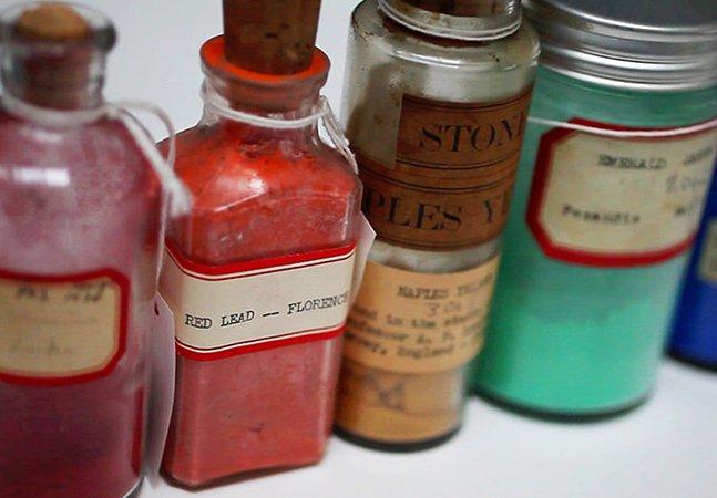 Conheça o homem que colecionava cores e o museu que protege os pigmentos mais raros do mundo