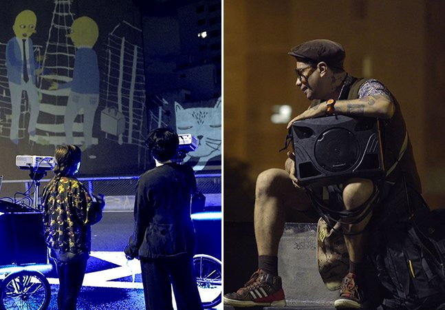 Como estes artistas estão usando as ruas para transformar a madrugada de São Paulo
