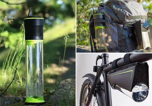 Essa incrível garrafa é capaz de transformar o ar em água potável