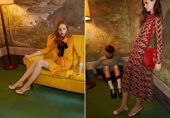 Propaganda da Gucci é banida por apresentar modelos magras demais
