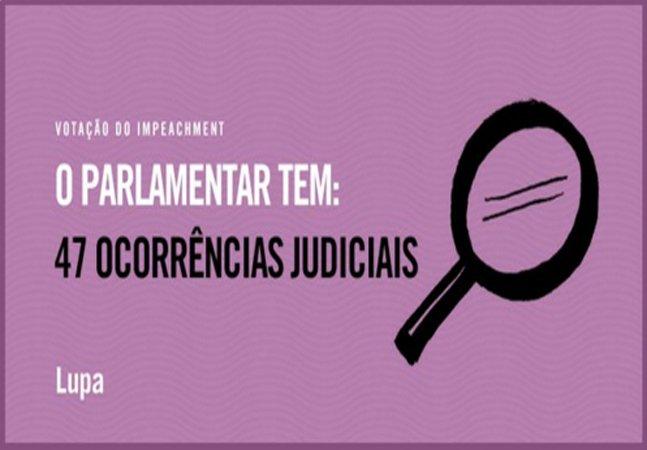 Saiba como checar as ocorrências  judiciais de cada deputado  que votou no impeachment