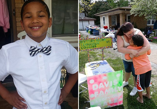 A tocante história do menino de 9 anos que está vendendo limonada para bancar sua própria adoção