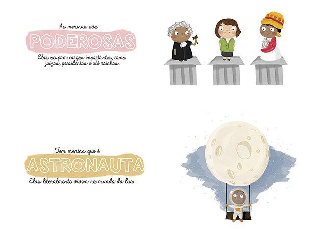 """""""Coisa de Menina"""": brasileira cria livro ilustrado pra mostrar que meninas podem ser o que elas quiserem"""