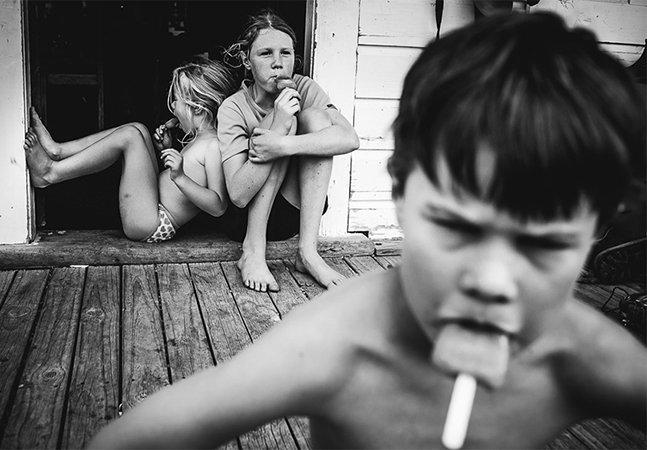 Mãe fotógrafa capta a infância dos filhos longe de gadgets em imagens apaixonantes