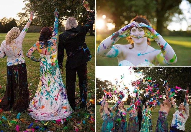 Noiva que foi deixada no altar reage da melhor forma com ensaio fotográfico inspirador