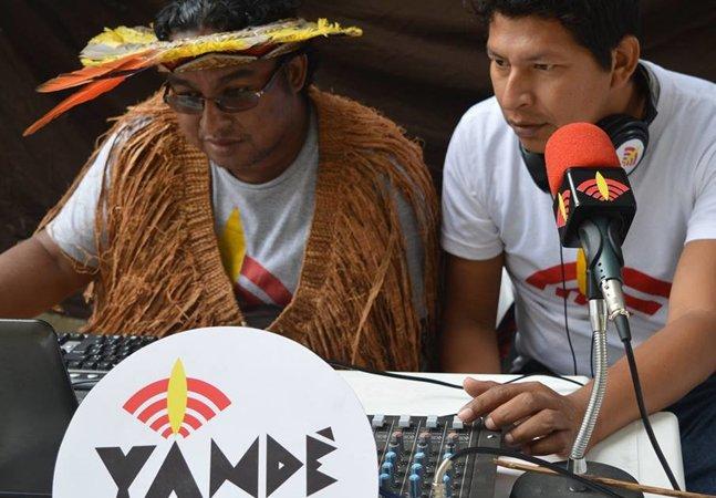 Conheça a Yandê, a primeira  rádio indígena online do Brasil