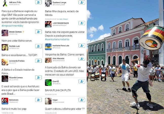 """""""Nem pra votar a Bahia serve"""" e o preconceito durante a votação do impeachment"""