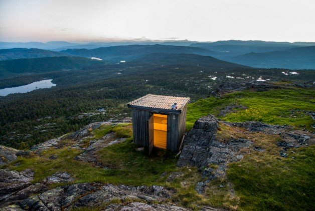 500px Photo ID: 117537695 - Lavatory with a special view!Norway/ Kongsberg