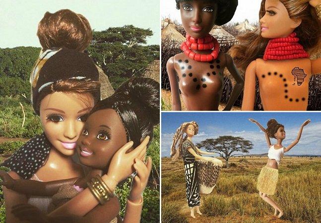 Projeto usa Barbie para fazer crítica divertida (e necessária) ao voluntariado superficial