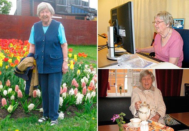 Senhorinha de 103 anos vira blogueira e conquista a internet