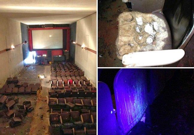 As fotografias deste cinema pornô abandonado são a coisa mais 'trash' que você vai ver hoje