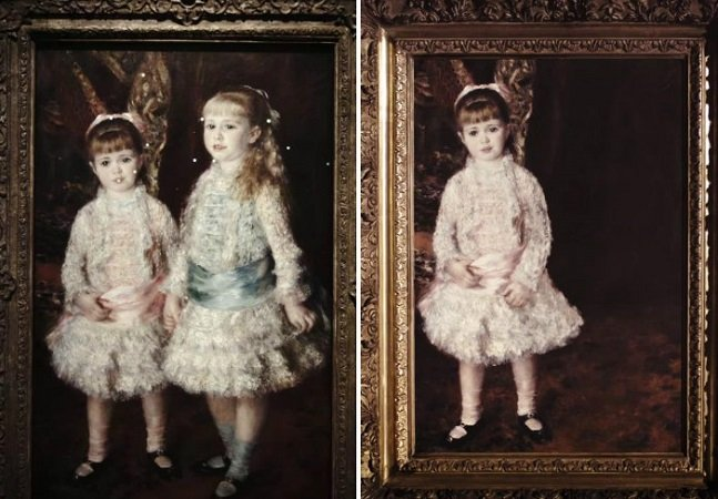 Campanha tocante usa a arte para chamar atenção para o drama de crianças desaparecidas