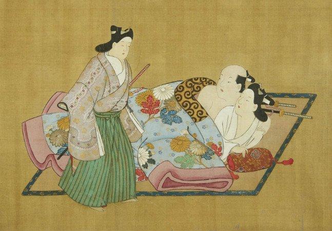 A arte erótica do Japão no século 17 era muito mais abusada do que você imagina