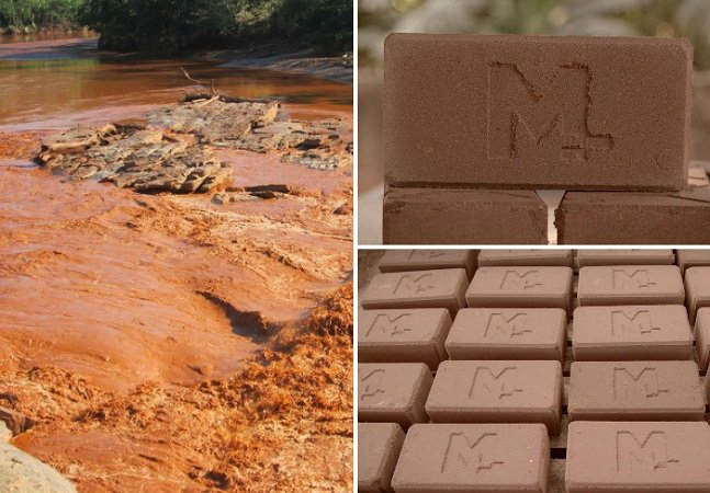 Projeto transforma lama de rompimento de barragem em tijolos para ajudar a reconstruir Mariana
