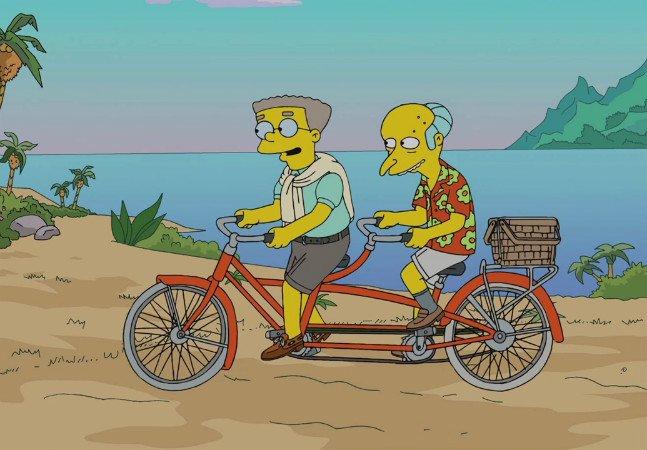 Em homenagem a seu filho,  roteirista de Os Simpsons faz  personagem sair do armário