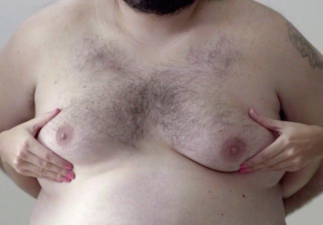 Campanha incrível alerta sobre câncer de mama usando seios masculinos para evitar censura