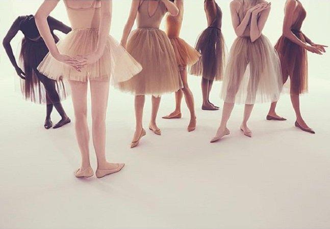 Finalmente alguém sacou que para ser 'nude' um sapato deve variar de acordo com o tom de pele