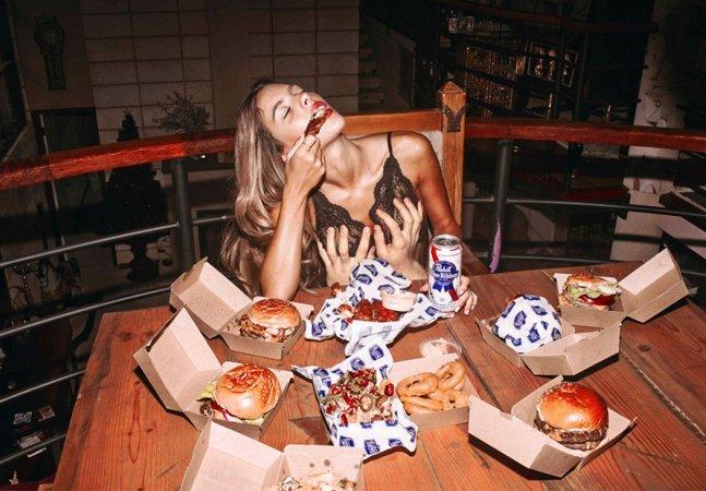 #foodporn literal:  fotógrafa mistura junkie food e  sensualidade em ensaio impactante