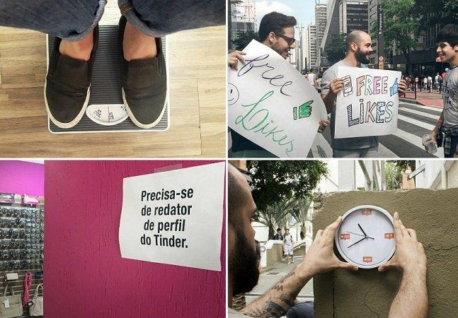 Projeto lança um desafio por dia durante 30 dias nas ruas de SP pra discutir nossa relação com a tecnologia