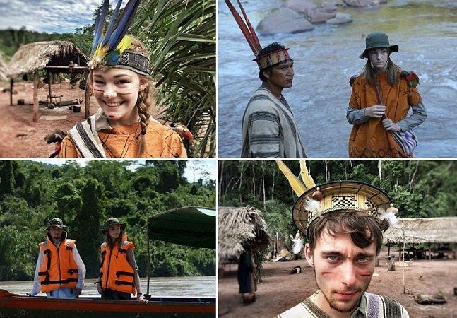 Pais enviam adolescentes consumistas  à tribo remota no Peru para que revejam seus valores
