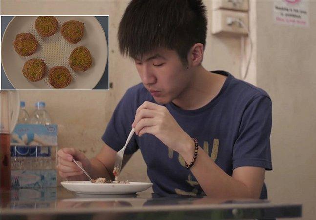 Publicitários criam prato inovador inspirado em esponjas que absorve o excesso de óleo na comida