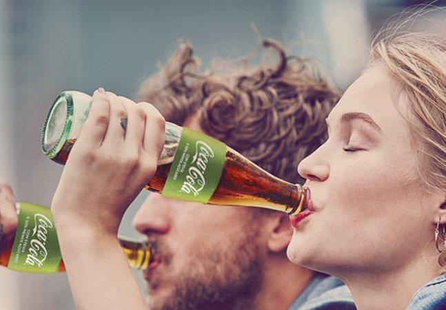 Coca-cola 'verde', feita com stevia  e menos açúcar, chega ao Brasil