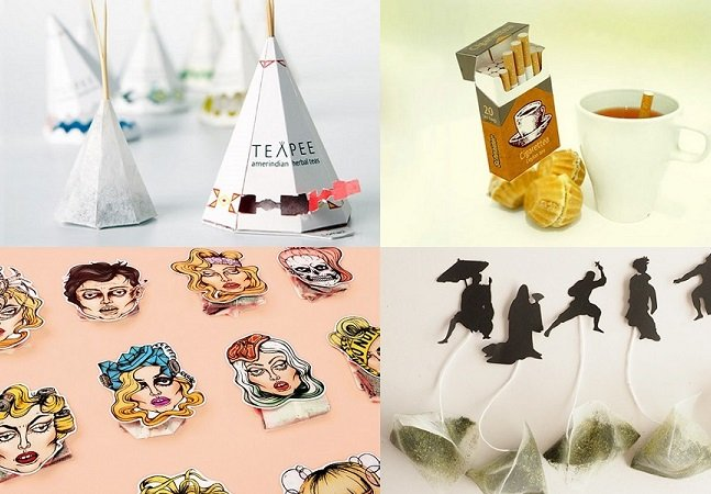 15 saquinhos de chá criativos vão deixar sua paixão pela bebida ainda mais interessante
