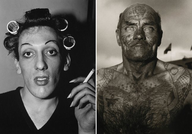 Nos anos 1960 e 1970, ela fotografou  tudo aquilo que a sociedade  considerava desagradável e anormal
