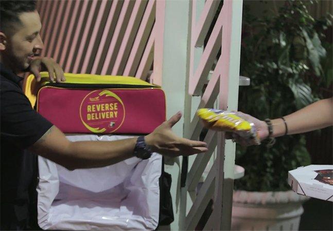 """""""Delivery Reverso"""": ONG brasileira cria projeto que permite que você doe alimentos sem sair de casa"""